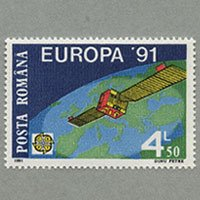 ルーマニア 1991年ヨーロッパ切手
