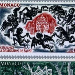 モナコ 1969年ベルリオーズのオペラ「ファウストの劫罰」のシーン10種