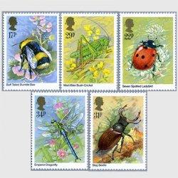イギリス 1985年イギリスの昆虫5種