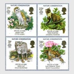 イギリス 1986年自然保護4種