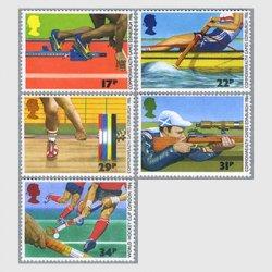 イギリス 1986年第13回英連邦競技会5種