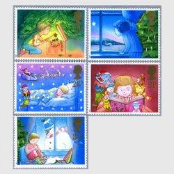 イギリス 1987年クリスマス切手5種