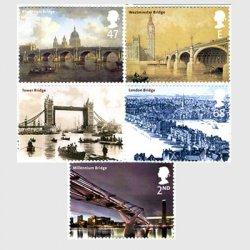 イギリス 2002年ロンドンの橋5種