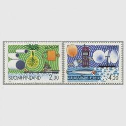 フィンランド 1994年ヨーロッパ切手2種