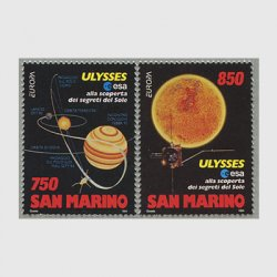 サンマリノ 1994年ヨーロッパ切手2種
