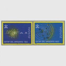 バチカン 1994年ヨーロッパ切手2種