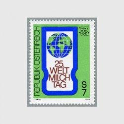 オーストリア 1982年世界ミルクの日25年