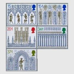 イギリス 1989年クリスマス5種