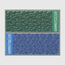 ガーンジー 1995年ヨーロッパ切手2種