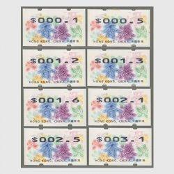 香港 1998年クリスマス自動化切手8種