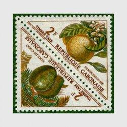 ガボン 1962年ココナツとグレープフルーツペア
