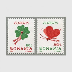 ルーマニア 1998年ヨーロッパ切手2種<img class='new_mark_img2' src='https://img.shop-pro.jp/img/new/icons34.gif' style='border:none;display:inline;margin:0px;padding:0px;width:auto;' />