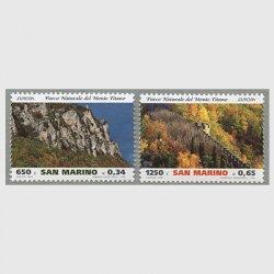サンマリノ 1999年ヨーロッパ切手2種