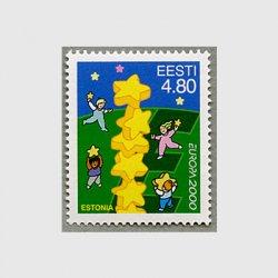 エストニア 2000年ヨーロッパ切手