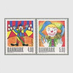デンマーク 2002年ヨーロッパ切手2種