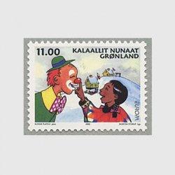 グリーンランド 2002年ヨーロッパ切手