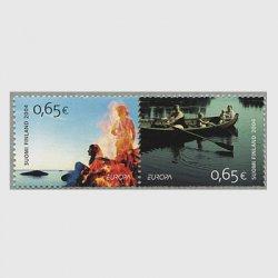フィンランド 2004年ヨーロッパ切手2種