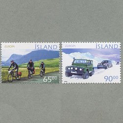 アイスランド 2004年ヨーロッパ切手2種