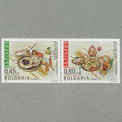 ブルガリア 2005年ヨーロッパ切手2種
