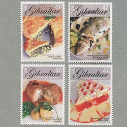 ジブラルタル 2005年ヨーロッパ切手4種