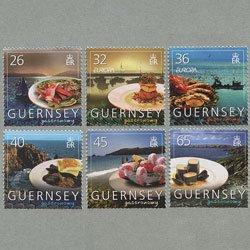 ガーンジー 2005年ヨーロッパ切手6種