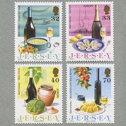 ジャージー 2005年ヨーロッパ切手4種