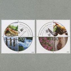 アイスランド 2005年ヨーロッパ切手2種