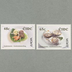 アイルランド 2005年ヨーロッパ切手2種