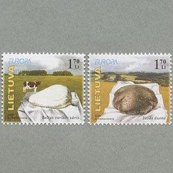 リトアニア 2005年ヨーロッパ切手2種