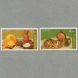 モルドバ 2005年ヨーロッパ切手2種