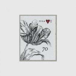 アメリカ 2015年普通切手「ビンテージ・チューリップ」