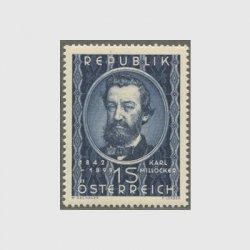 オーストリア 1949年ミレッカー死去50年