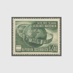 オーストリア 1955年国際連合10年