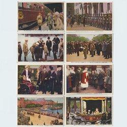 絵はがき 東宮殿下御訪欧記念謹寫8種 -報知社代理部