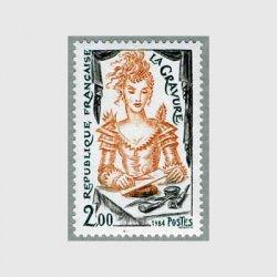 フランス 1984年手工業シリーズ 彫版術