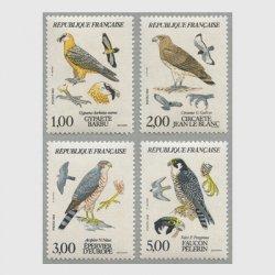 フランス 1984年猛禽類4種