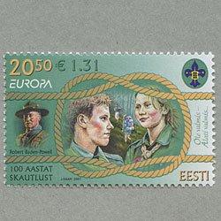 エストニア 2007年ヨーロッパ切手