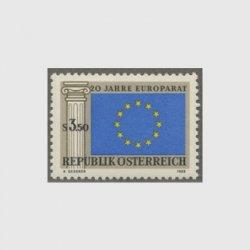 オーストリア 1969年ヨーロッパ議会20年