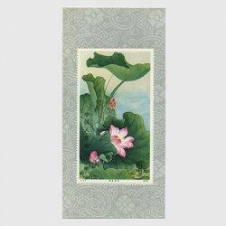 中国 1980年蓮の花小型シート(T54m)