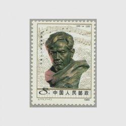 中国 1985年洗星海生誕80年(J111)