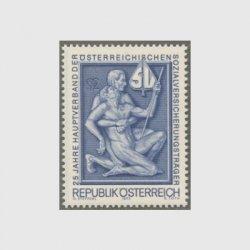 オーストリア 1973年社会保険制度25年