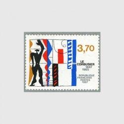 フランス 1987年ル・コルビュジェ生誕100年