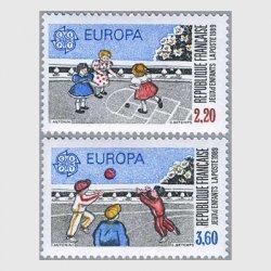 フランス 1989年ヨーロッパ切手2種