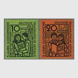 東ドイツ 1959年若者奉献2種