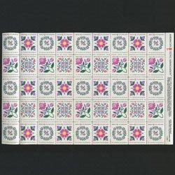 アメリカ 1991年複十字シールシート