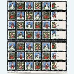 アメリカ 2005年クリスマスシールシート