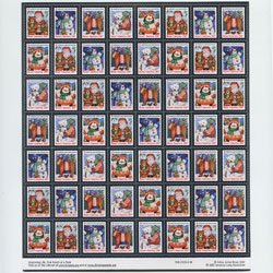 アメリカ 2007年クリスマスシールシート