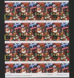 アメリカ 2009年クリスマスシールシート