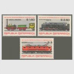 オーストリア 1977年鉄道140年3種