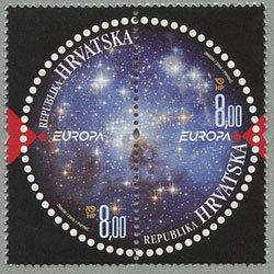 クロアチア 2009年ヨーロッパ切手ペア